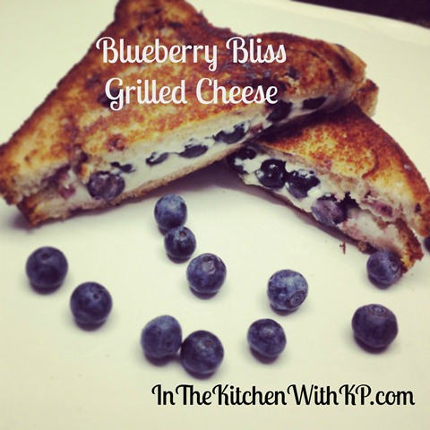 Blueberry Bliss Grilled Cheese