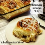 Easy Homemade Cinnamon Rolls #SundaySupper #CookingAdventure