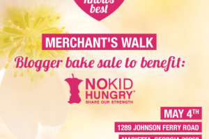 I'm Baking For @NoKidHungry @MerchantsWalk #MWbakesale Sat May 4th