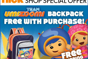 Favorite @NickelodeonTV Character Gifts and Free/Bonus #NickBackpack With Purchase