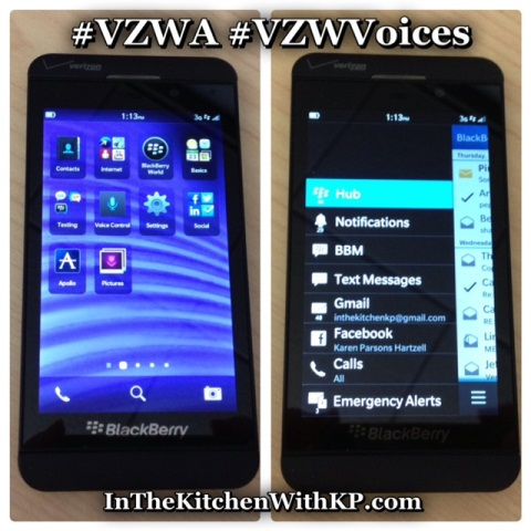 BlackBerry Z10 VZWA VZWVoices