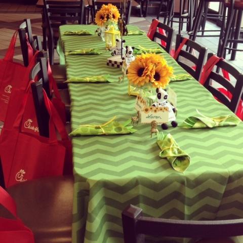Chick fil A Premium Salad Meetup