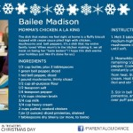 Cook Up Some Holiday Spirit – Celebrity #Recipe Cards From Parental Guidance