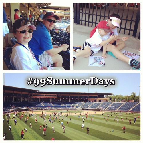 Gwinnett Braves Baseball Game Family Fun 99 Summer Days