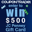 Love to Shop? Check out the CouponTrade $500 JC Penney Give away!