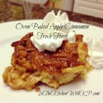 Baked Apple Cinnamon French Toast #SundaySupper