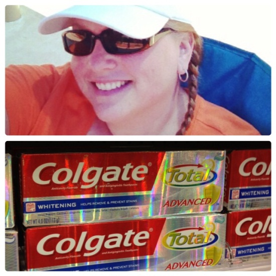 Colgate Total Advanced Toothpaste HappyHelathySmiles