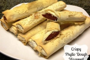 Crispy Phyllo Dough Wrapped Hot Dogs #99SummerDays #HebrewNational