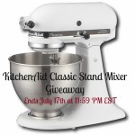 Enter to Win Your Own KitchenAid Classic Stand Mixer #Giveaway