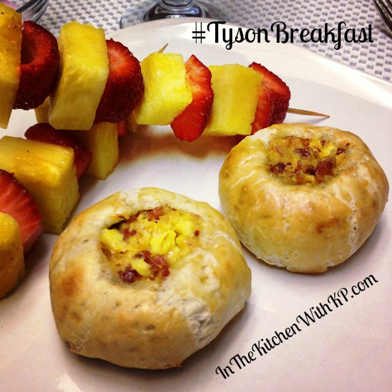 Tyson Bacon Egg and Cheese Bread Bowls