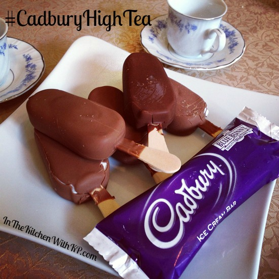 Cadbury Ice Cream Bars for High Tea