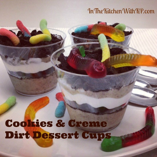 Cookies and Creme Dirt Dessert Cups 1