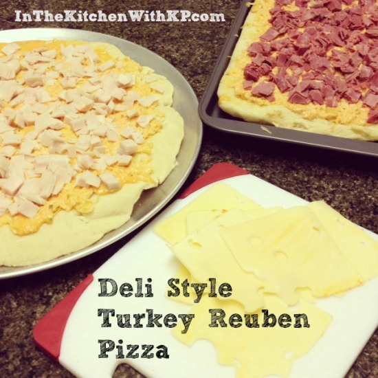 Deli Style Turkey Reuben Pizza 1