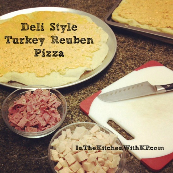 Deli Style Turkey Reuben Pizza 2