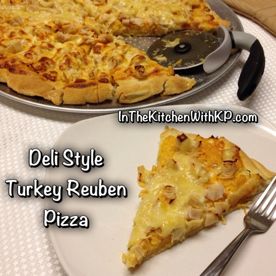 Deli Style Turkey Reuben Pizza 3