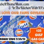Friends, Fan, and Follower Appreciation $25 Gas Card Giveaway