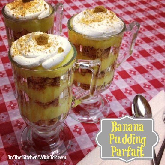 Banana Pudding Parfait #99SummerDays 1