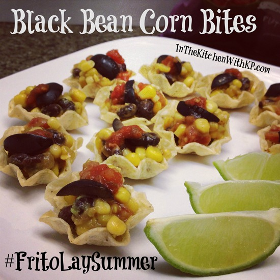 Black Bean Corn Bites FritoLaySummer