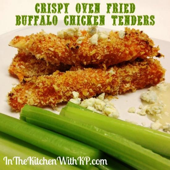 Crispy Oven Fried Buffalo Chicken Tenders 1