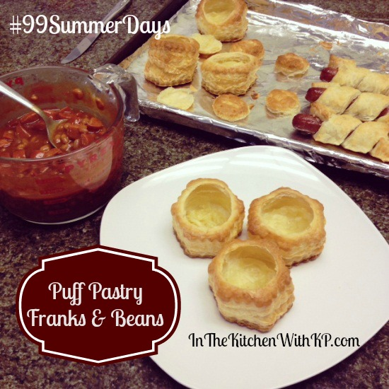 Puff Pastry Franks and Beans With Hebrew National 3