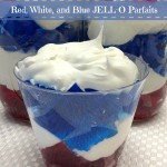 Red, White, and Blue Jello Parfaits #SundaySupper