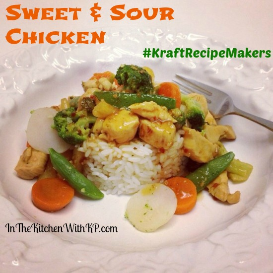 Sweet and Sour Chicken #KraftRecipeMakers #shop 1
