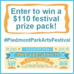 Family Fun at the Piedmont Park Arts Festival and #Giveaway