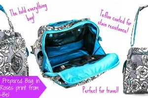 "Ju-Ju-Be ""Be Prepared"" Diaper Bag Giveaway"