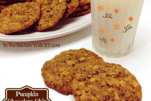 Pumpkin Chocolate Chip Oatmeal Cookies Fall Inspired #SundaySupper