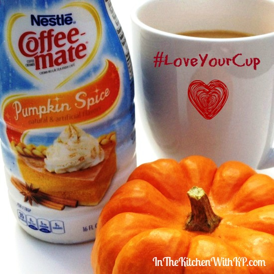 Pumpkin Spice Coffee-Mate #LoveYourCup 6