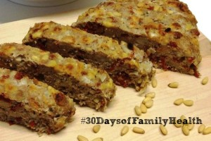 Turkey and Sun Dried Tomato Meatloaf #30DaysofFamilyHealth @AMDiabetesBooks