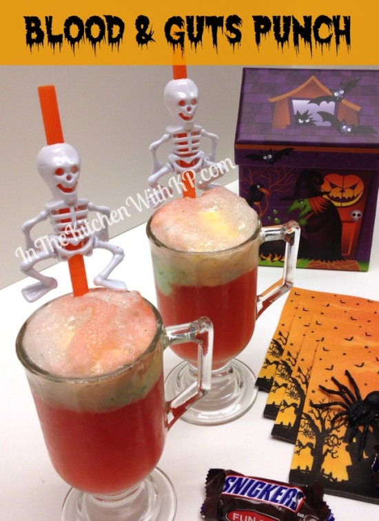 Blood and Guts Punch #SpookyCelebrations #Shop In The Kitchen With KP