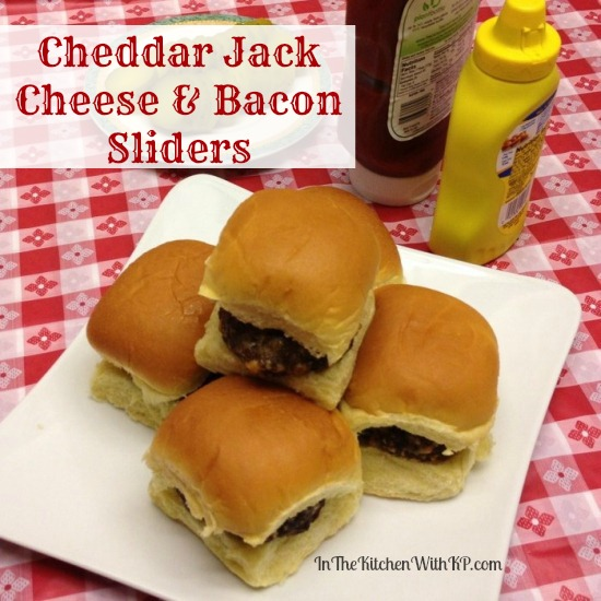 Cheddar Jack Cheese and Bacon Sliders #FreshTake #shop In The Kitchen With KP 5