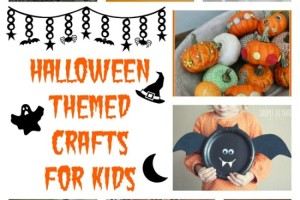 15 Halloween Themed Crafts for Kids