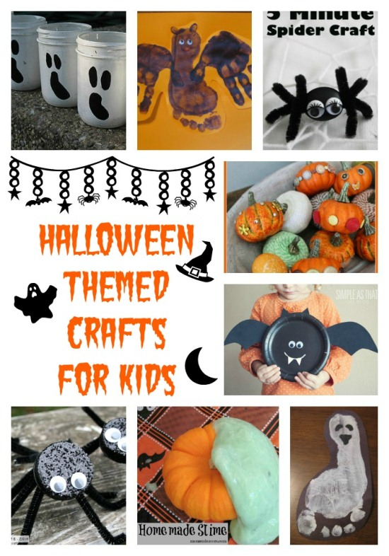 Halloween Themed Crafts For Kids ww.InTheKitchenWithKP