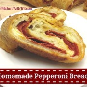 Pepperoni Bread for #PotluckforChristy @SouthernPlate