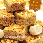 Pumpkin Spice Rice Krispies Treats #EatAllThePumpkin