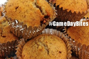 Snickers Banana Bread Muffins #GameDayBites