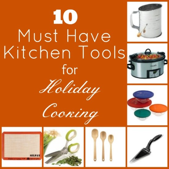 10 Must Have Kitchen Tools www.InTheKitchenWithKP #KitchenTools