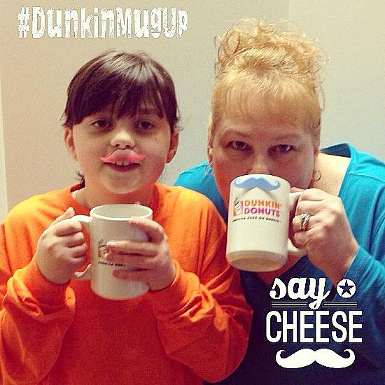 Dunkin Donuts Mustache Madness #DunkinMugUp www.InTheKitchenWithKP #ad 1