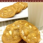 Macadamia and White Chocolate Chip Cookies #CookieWeek