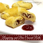 Raspberry and Brie Crescent Rolls for a Thankful #SundaySupper
