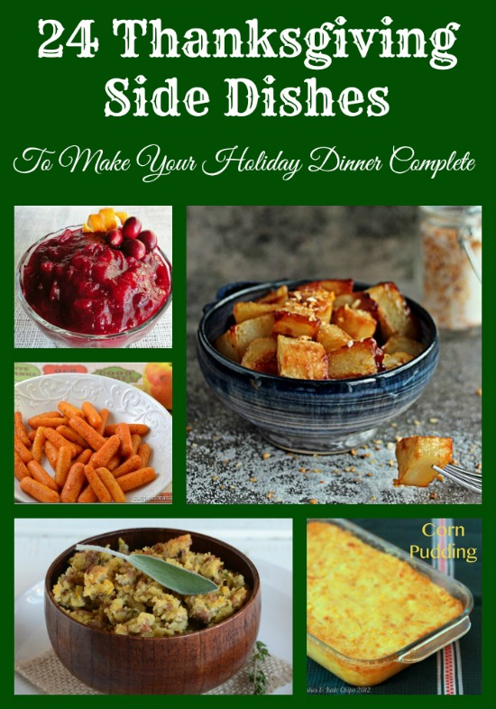 Thanksgiving Side Dishes #recipe #holiday www.InTheKitchenWithKP