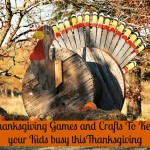 Thanksgiving Themed Games and Crafts to Keep the Kids Busy
