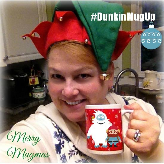 Dunkin Donuts Holiday Mug #DunkinMugUp #ad www.InTheKitchenWithKP