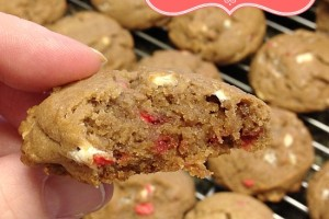 Peppermint Hot Cocoa Cookies #FBCookieSwap