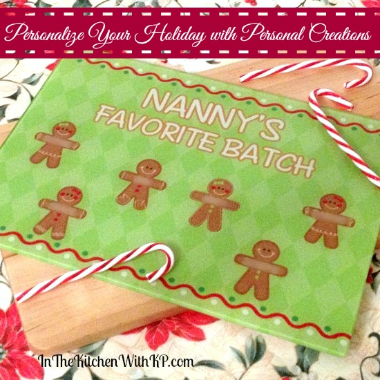 Personalized Christmas with Personal Creations #PCholiday #ad www.InTheKitchenWithKP 1