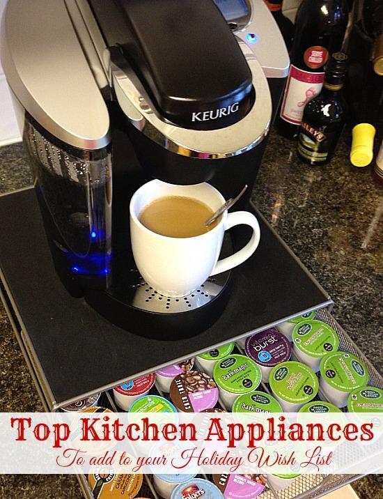 Top Kitchen Appliances #holiday #GiftIdeas www.InTheKitchenWithKP