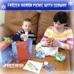 Polar Vortex Outside? Host a FROZEN Indoor Picnic with @SUBWAY #FrozenFun #shop