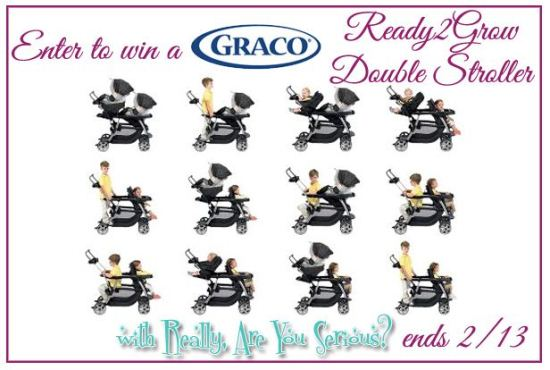 #Graco Ready2Grow Double Stroller #Giveaway www.InTheKitchenWithKP